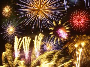 Firework_photomontage