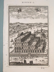 View_of_the_gardens_of_Semiramis,_Description_de_L'Universe_(Alain_Manesson_Mallet,_1683)